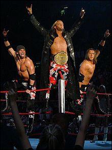 Comment s'appellait le duo de Edge, Chavo Guerrero, Zack Ryder, Bam Neely, Curt Hawkins ?