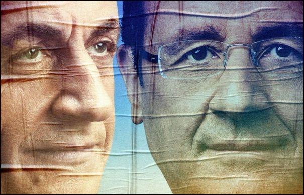 Quels sont les deux candidats qui se sont qualifiés le 22 avril 2012 pour le second tour de l'élection présidentielle ?