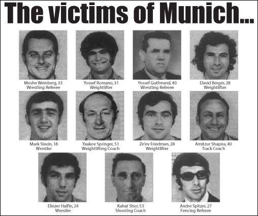 En 1972, à Munich, les sportifs israéliens ont compté plusieurs morts à cause...