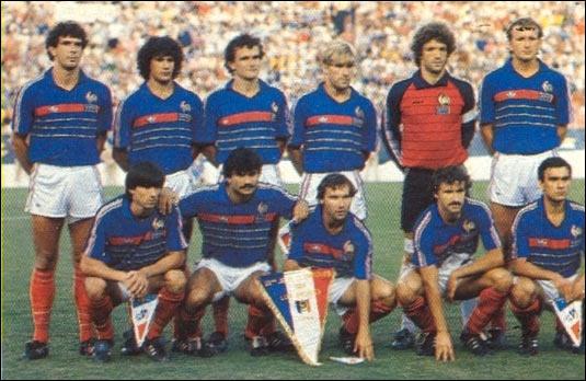 Quelle bonne surprise avant l'heure ! En 1984, la France est championne olympique de football face au Brésil ! Quel joueur ne faisait pas partie de l'équipe française ?