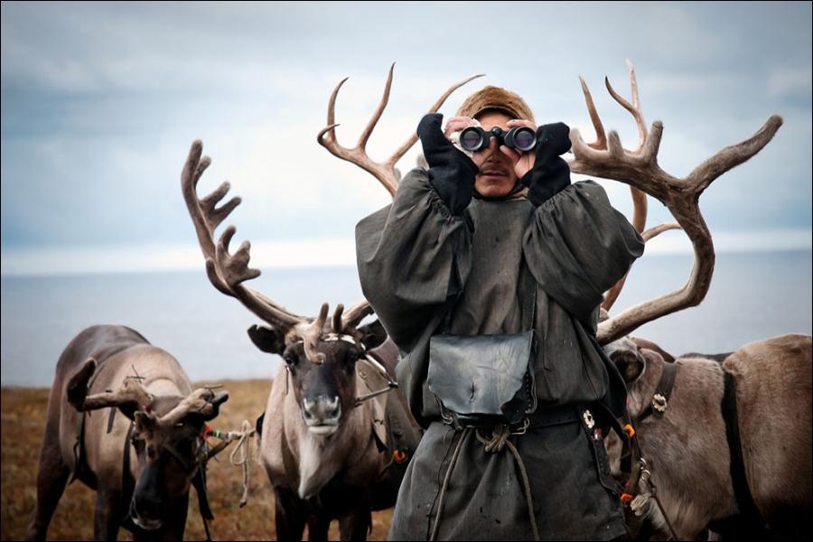 Nicolas Vanier nous fait vivre l'histoire d'un jeune évène, gardien d'une harde de rennes !