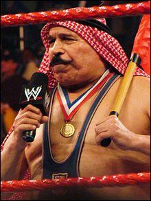 Quelle est la prise de finition de The Iron Sheik ?