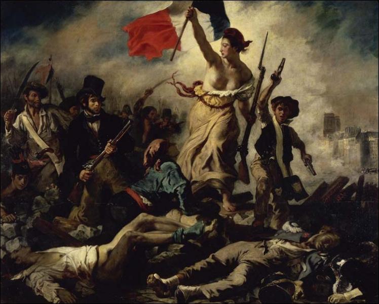 Qui a peint  La liberté guidant le peuple  ?