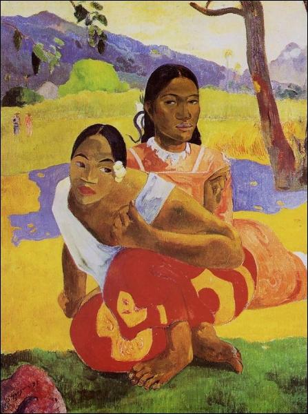 Qui a peint  Nafea Faa Ipoipo  ou  Quand te maries-tu ?   ?