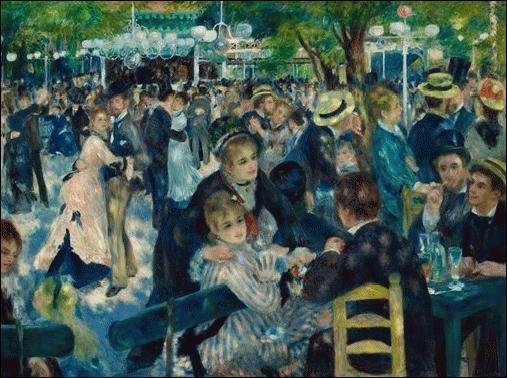 Qui a peint  Le bal du Moulin de la Galette  ?