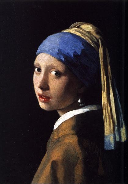 Qui a peint  La jeune fille à la perle  ?