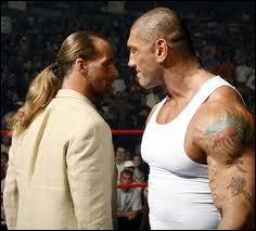Quelle était la stipulation du match Shawn Michaels vs Batista à One Night Stand 2008 ?