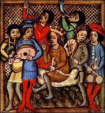 Enfin, toujours sur cette place, avait lieu une fête annuelle au mois de juin, très importante pour les parisiens. En 1471, le roi Louis XI y participa activement, il s'agissait de :