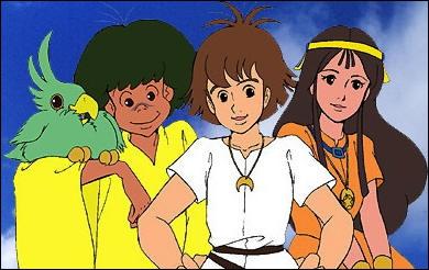 Qui sont les trois enfants principaux de l'histoire ?