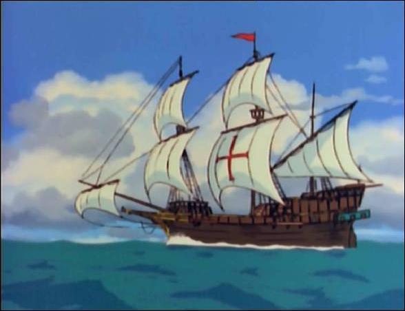 A Barcelone quel bateau prend les adultes et 2 des enfants ?