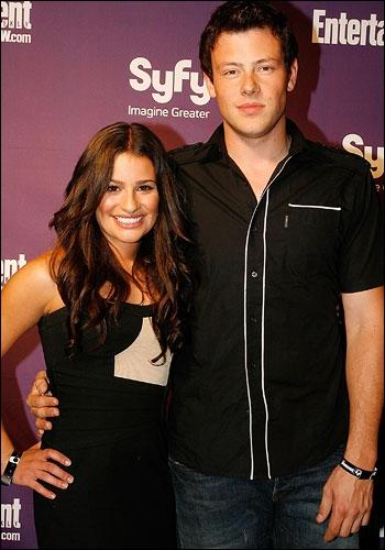 Dans quelle série se sont rencontrés Lea Michele et Cory Monteith ?