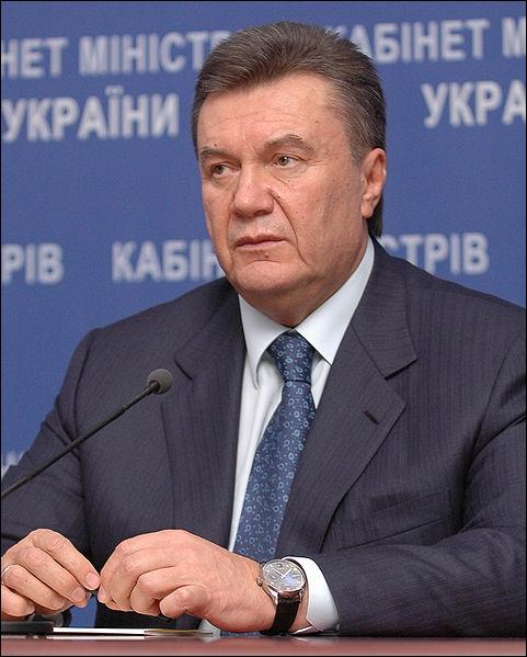 De quel pays Viktor Ianoukovytch est-il le président ?