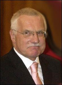 Comment s'appelle ce président tchèque ?