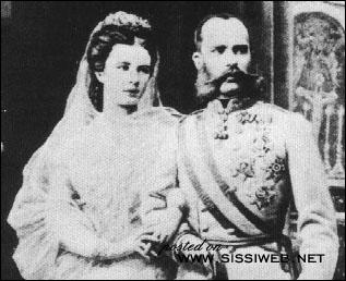 Quel âge avait François Joseph et Sissi lors de leur mariage le 24 avril 1854 ?