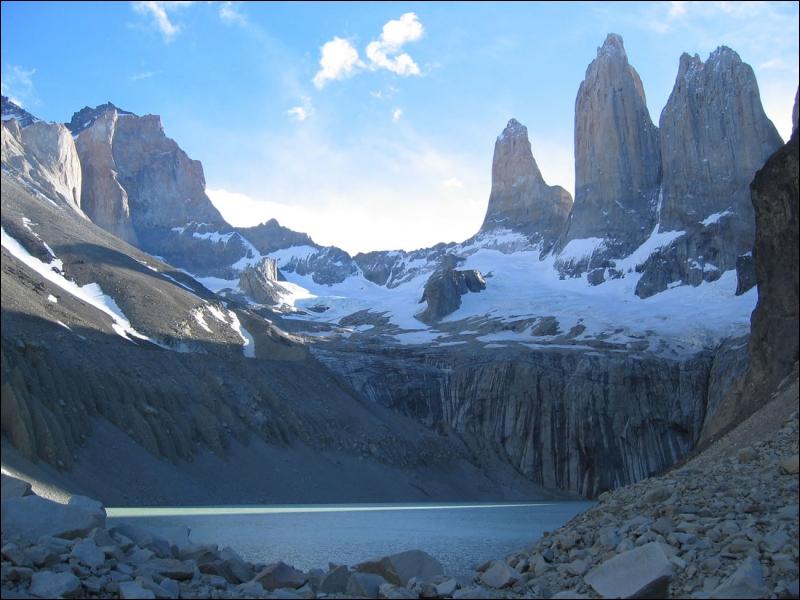 Ce parc national est célèbre pour ses trois tours géantes. Où se trouve-t-il ?