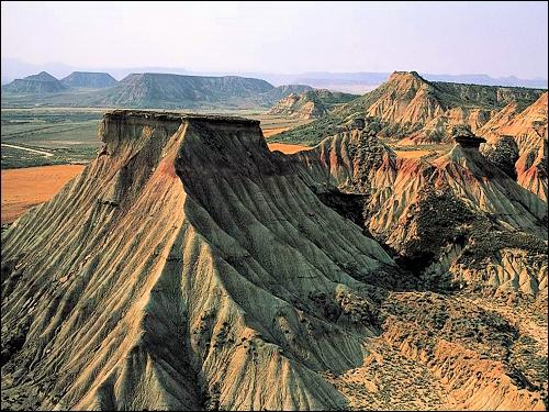 Où se trouve ce paysage digne d'un  western-spaghetti  ?