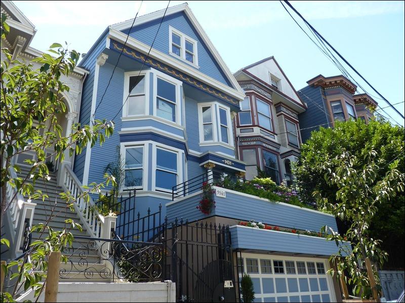 Quizenbleu quiz culture g n rale - Maison bleue adossee a la colline ...