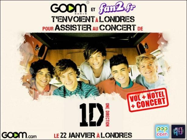 Leurs places de concert ont été vendues en...