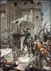 Qui bénéficia de l'aide de Jeanne d'Arc pour reconquérir son trône (contre sa mère) et être sacré à Reims en 1429 ?