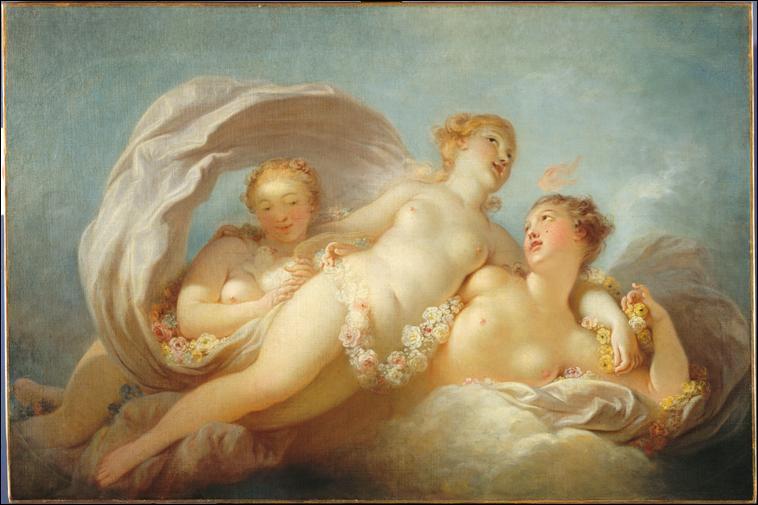 Les Trois Grâces, c. 1756