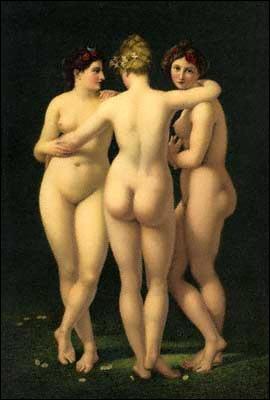 Les Trois Grâces, c. 1799