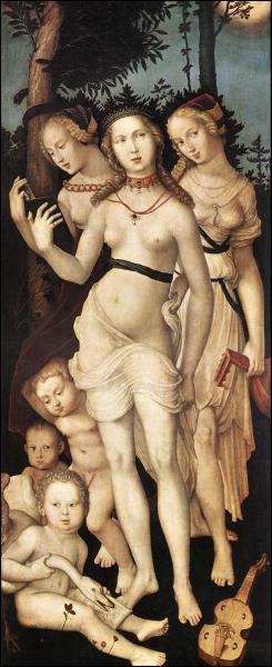 Les trois Grâces, c. 1540