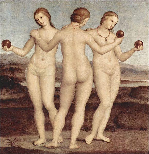 Les Trois Grâces, 1504-1505