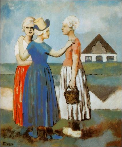 The three dutchwoman, 1905