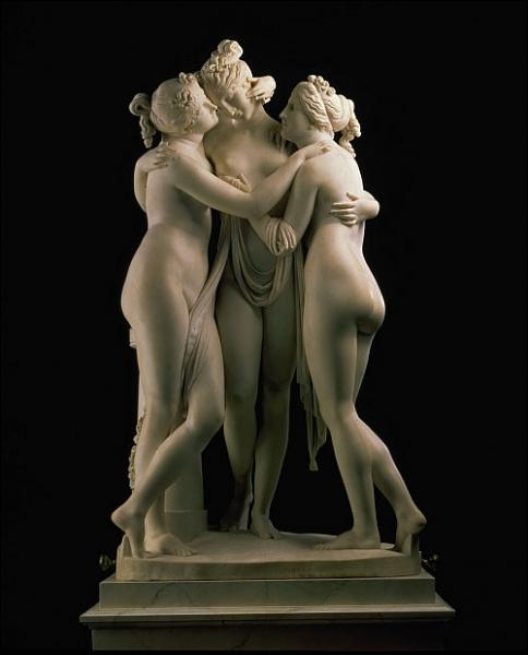 Les Trois Grâces, 1815-17