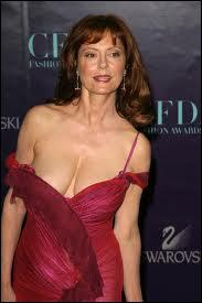 On se demande ce qui a pris à cette grande actrice pour porter un tel modèle, proche de la rupture... ! Qui est-ce ?