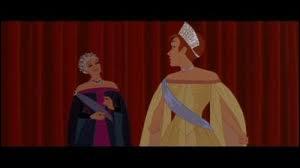 Comment Dimitri prouve-t-il à la grand-mère d'Anastasia que c'est sa vraie petite fille ?