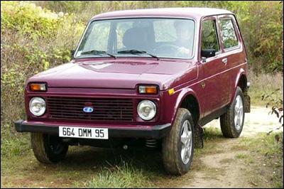 Ce modèle de Lada a bientot 40 ans ! Lequel est-ce ?