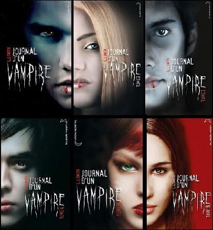 Combien de livres y a-t-il pour le Journal d'un vampire ?