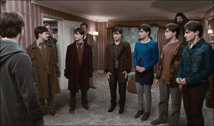 Combien de personnes se transforment en Harry Potter ?