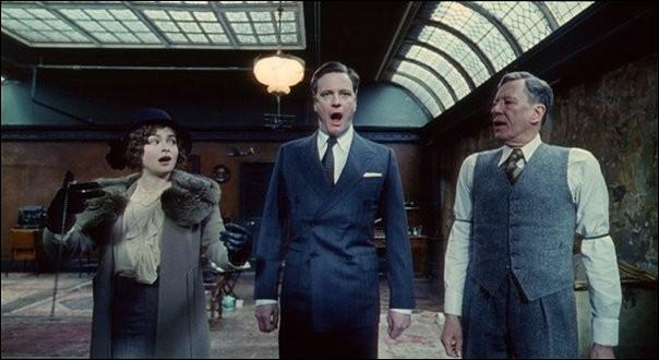 Ce film retrace l'histoire du père bégayant de l'actuelle reine Elisabeth d'Angleterre. Il deviendra, contraint et forcé, le roi George VI.
