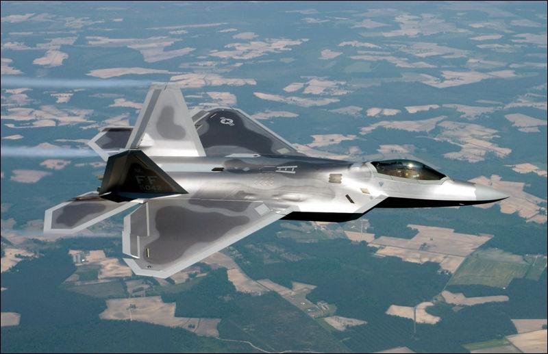 Quel est cet avion de cinquième génération développé par Lockheed Martin ?