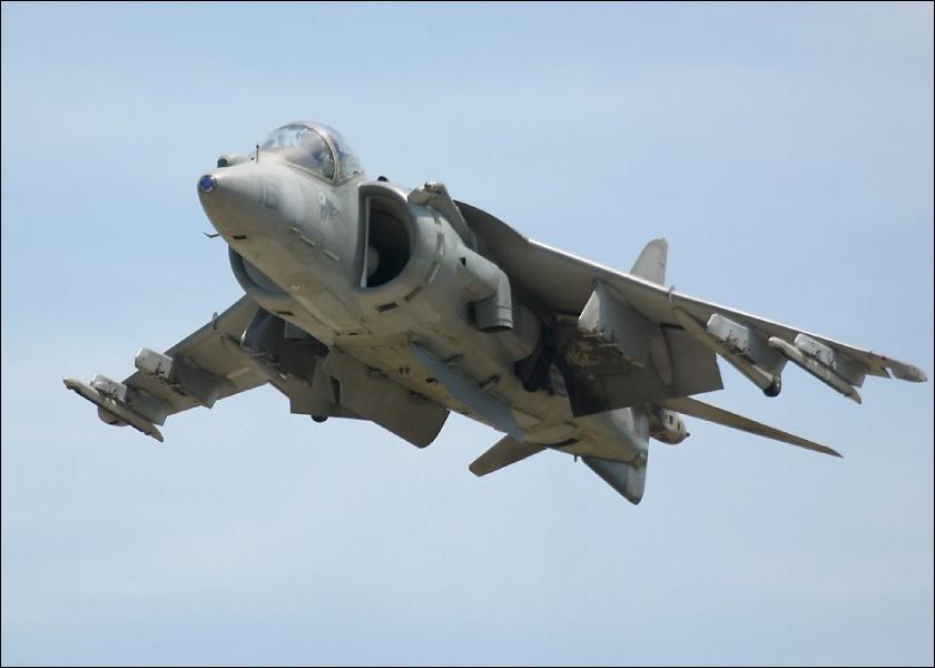 Quel est cet avion à atterrissage vertical ?