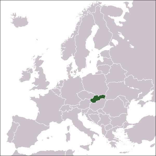 Quel est le pays que l'on voit en vert sur la carte de l'Union Européenne ?