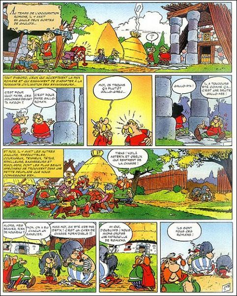 Gut gemocht Quizz Une planche, un album d'Astérix 1/5 - Quiz Asterix, Albums LC16