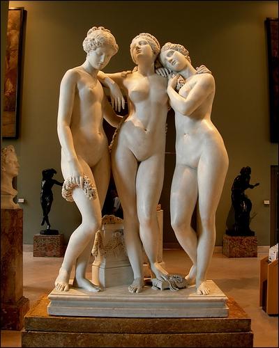 Art : Lequel de ces peintres n'a pas consacré l'une de ces œuvres entières aux trois Grâces ?