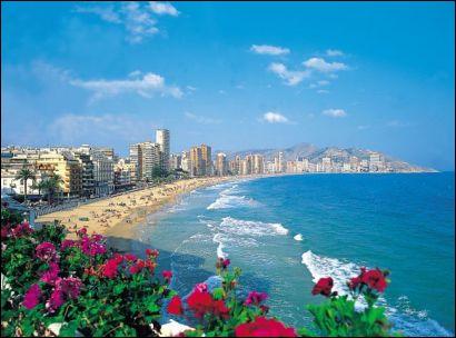 Géographie : Où est située la Costa Blanca ?