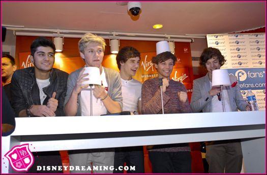 Quand les One Direction sont venus en France ?