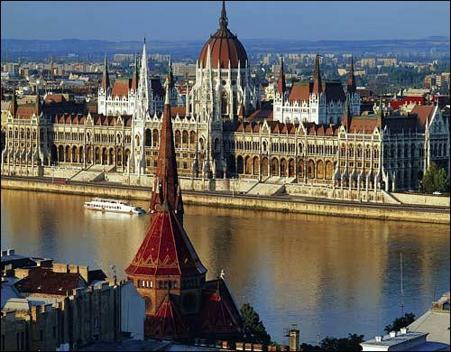 Capitale hongroise.