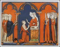 On dit que les souverains qui se faisaient sacrer à Reims recevaient un cadeau. Lequel ?