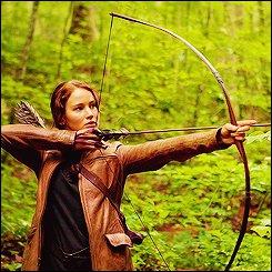 Quelle fleur redonne espoir à Katniss ?