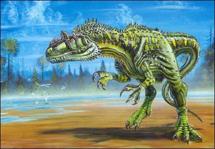 Que signifie  Allosaurus  ?