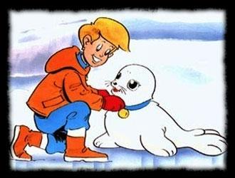 Où se passaient les aventures de  Bibifoc , le petit phoque, et de ses amis Tommy et Ayma ?