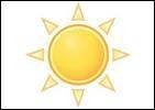 De quelle couleur est le soleil ? (en anglais)
