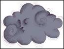 De quelle couleur sont les nuages principalement ? (en anglais)