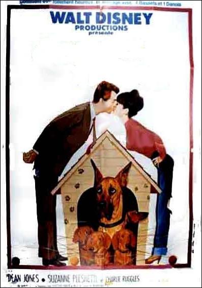 Mark Garrison, artiste peintre, et sa femme, possèdent une chienne teckel nommée Dank... . Film américain de Norman Tokar, sorti en 1966.
